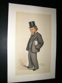 Vanity Fair Print 1884 William Cornwallis Cartwright